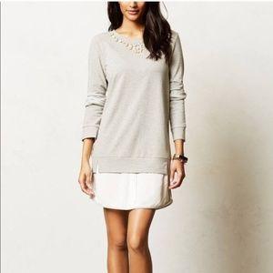 Anthropologie Boundary Sweater/Shirt dress